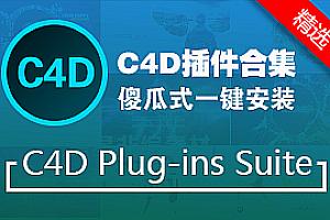 【C4D插件合集】4D Plug-ins Suite 6.3.1