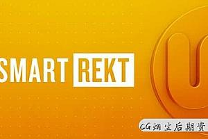 【AE脚本】自适应文字底栏方框图形工具 SmartREKT 3.2 Win/Mac + 使用教程