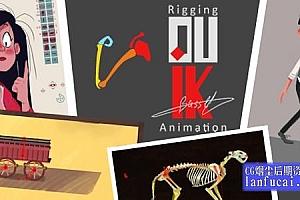中文AE脚本-二维人物角色骨骼绑定MG动画脚本 Duik Bassel.2 v16.2.17 Win/Mac