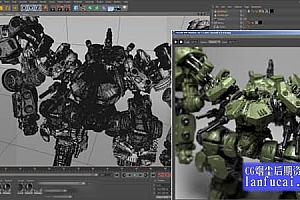 C4D阿诺德Arnold渲染器 SolidAngle C4DtoA 3.1.1.1 Mac/Win破解版 支持R20/R21/R22/R23
