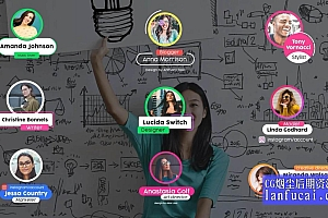 fcpx插件 9组时尚人名头像标题动画模板 介绍