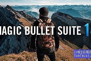 红巨人降噪磨皮美颜调色插件套装 Magic Bullet Suite v14.0.1 Win/Mac 含注册码 Looks/Mojo/Colorista等
