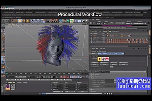 C4D插件-头发羽毛毛发模拟生成插件 Ornatrix v2 2.0.10.26200 Win