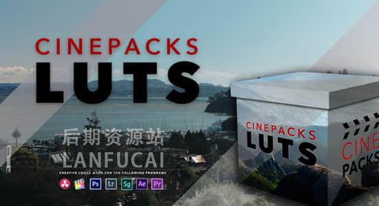 【LUTS预设】30个定制高质量电影婚礼纪录片视频LUTS调色预设 CinePacks LUTS