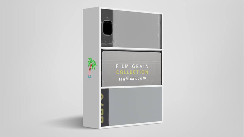 电影噪点颗粒特效合成视频素材 Film Grain Collection-CG烟尘后期资源站
