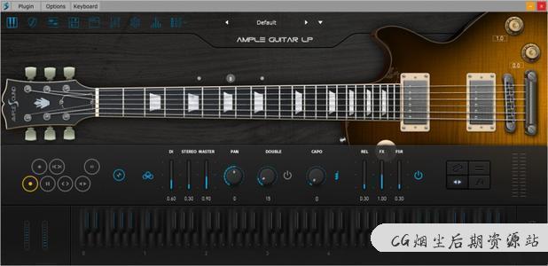 Ample Sound全套教程19款吉他-CG烟尘后期资源站