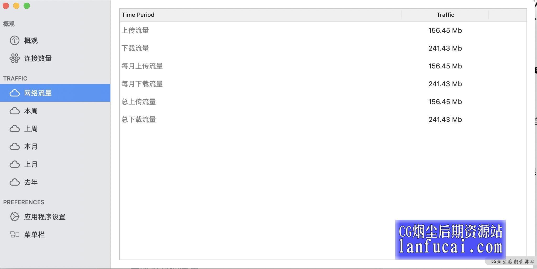 NetWorker Pro for mac(网络流量监控软件) v6.2.1-CG烟尘后期资源站
