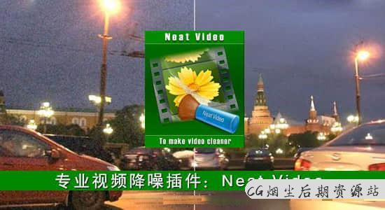 Nuke/达芬奇/Fusion/OFX专业视频画面降噪插件 Neat Video Pro v4.8.8 Win注册版