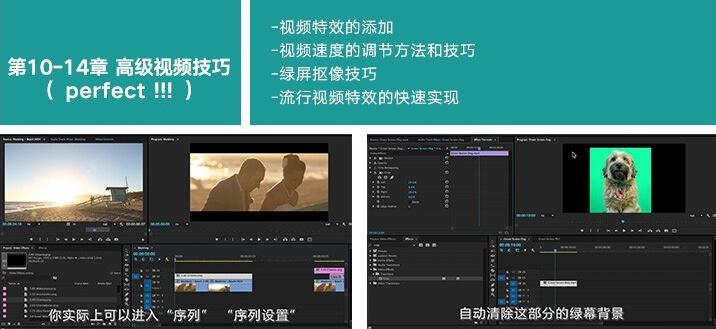 Premiere教程-90节Pr短视频剪辑Vlog中文字幕系统教程 PR教程-第4张