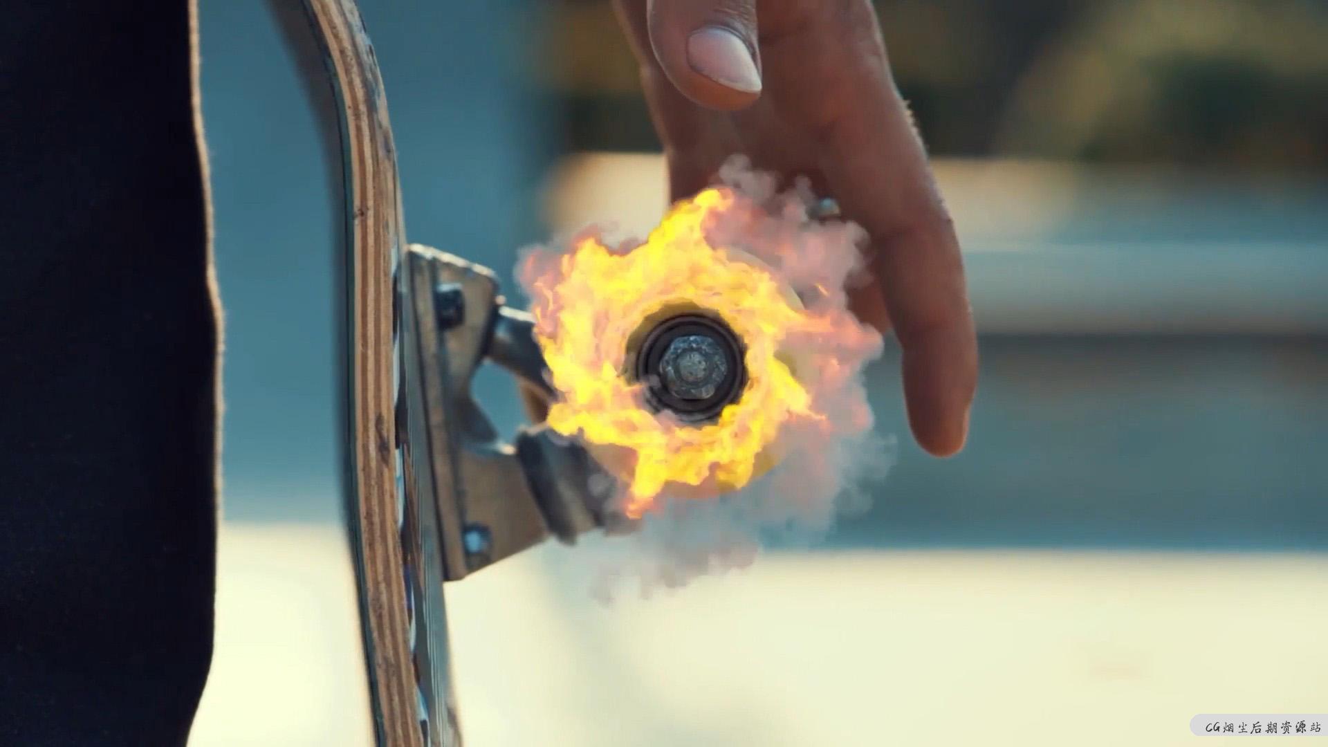 【fcpx插件】仿真模拟烟雾火焰特效动画元素 Smoke And Fire VFX Simulation-CG烟尘后期资源站