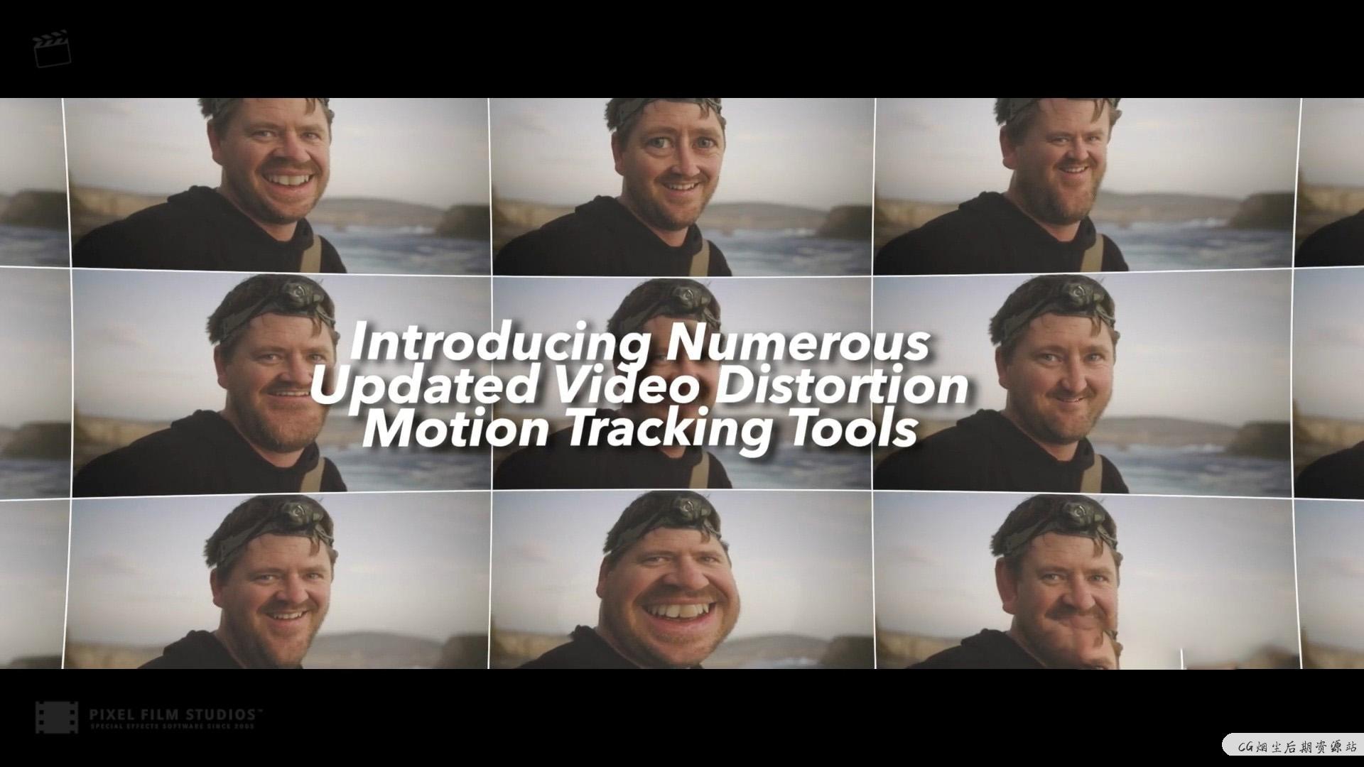 fcpx插件 脸部局部扭曲液化变形自动跟踪工具 Distortion Tracker 2-CG烟尘后期资源站