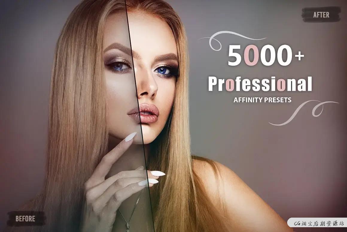 【5000+套】专业调色预设合集,你距离成为调色师就差一步