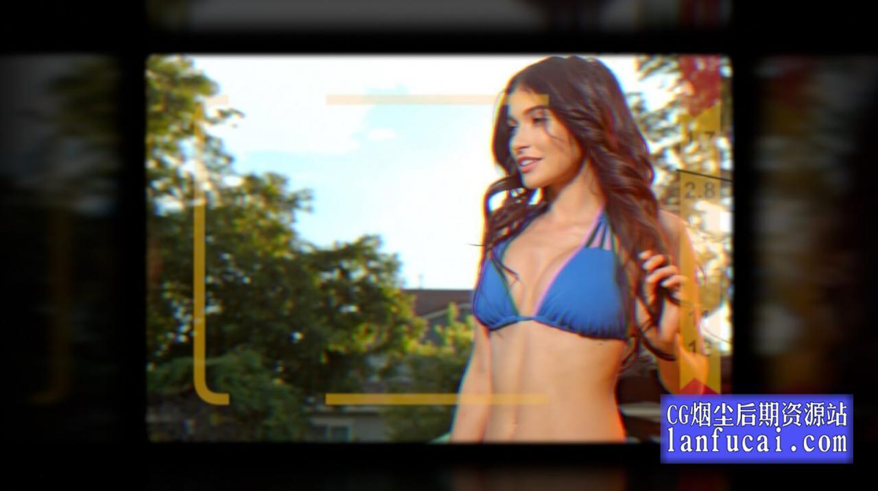 Fcpx插件 50个模拟相机取景器效果动画模板 支持M1 CineFlare Viewfinder插图