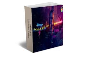 FCPX插件-55个赛博朋克酷炫科技感标题元素动画 mTitle Cyberpunk