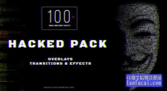 PR预设-100种叠加过渡视觉特效动画 Premiere Pro HACKED PACK