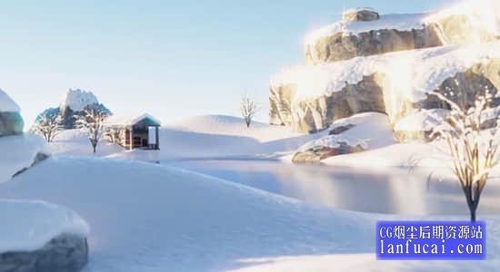 Blender教程-学习创建制作三维场景 The Ultimate Blender 3D Environments Course