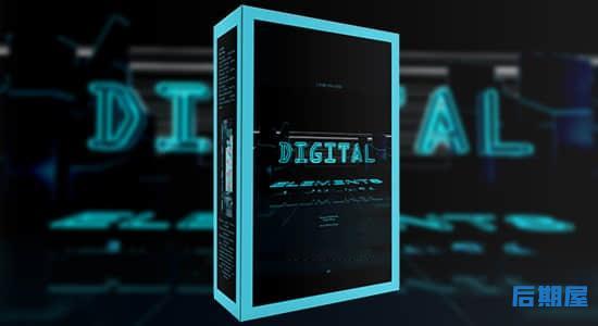 1004个未来数字科技电流智能机器工业电子音效 Epic Stock Media – Digital Elements